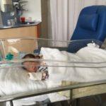 新生児病棟から退院